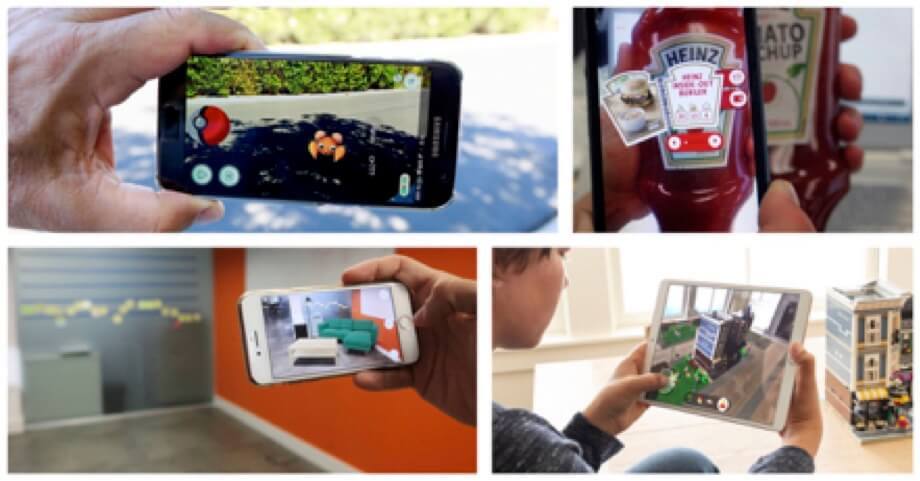 Androids, iPads, iPhones realidad aumentada